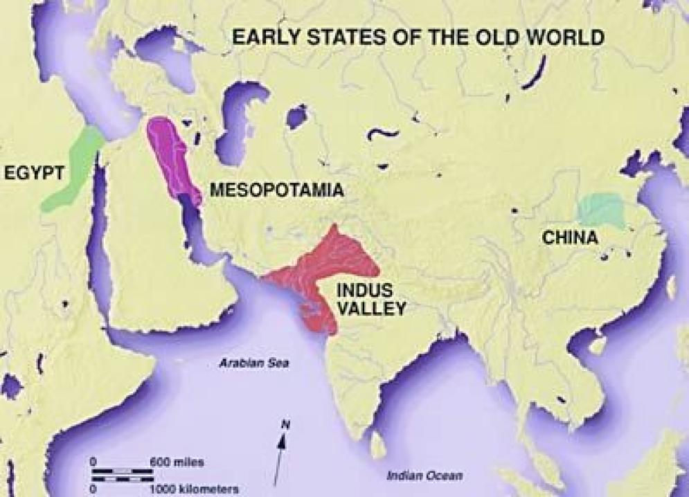 上对应着世界四大发源地图片