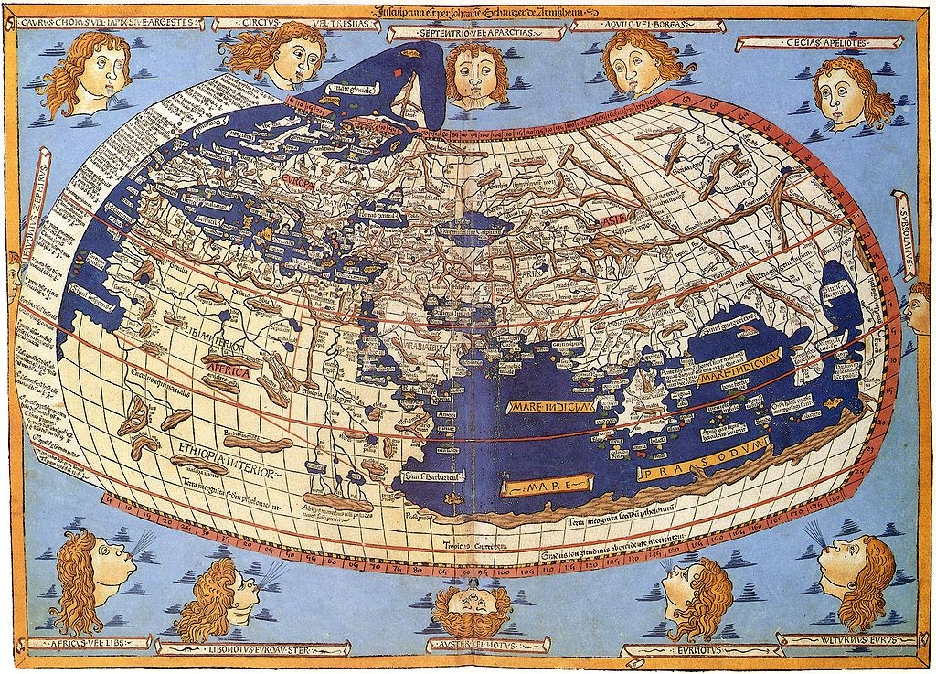 经纬度网格地图