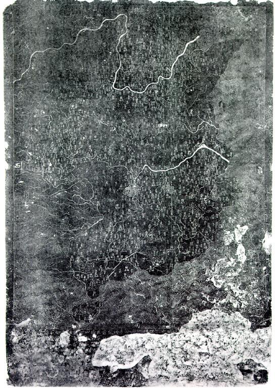海南岛地图轮廓